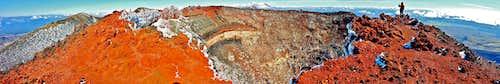 Ngauruhoe inner crater pano