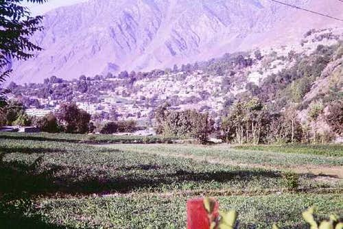 Chitral city in NWFP