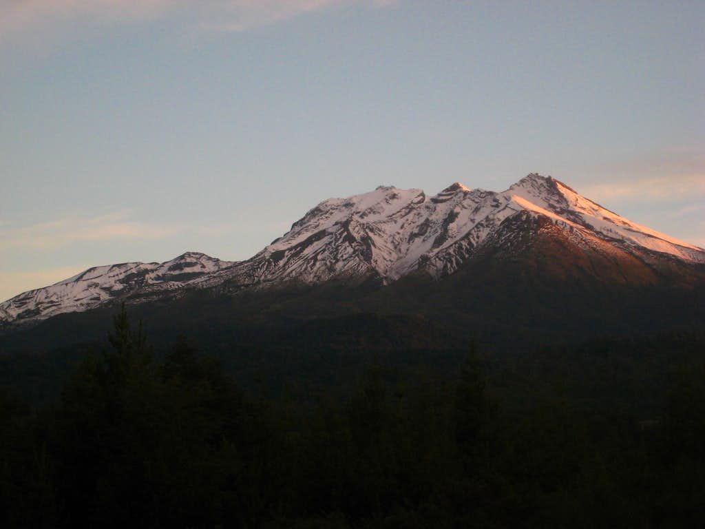 Calbuco sunset