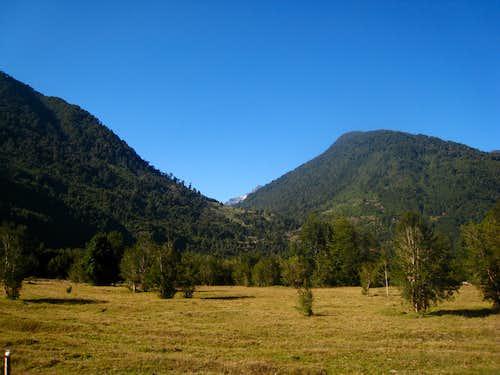 Entering Cochamo Valley