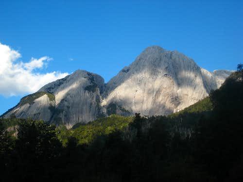 Perfect granite domes