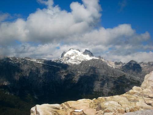 Unnamed peak above Cochamo Valley