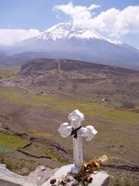 Chimborazo on the approach...