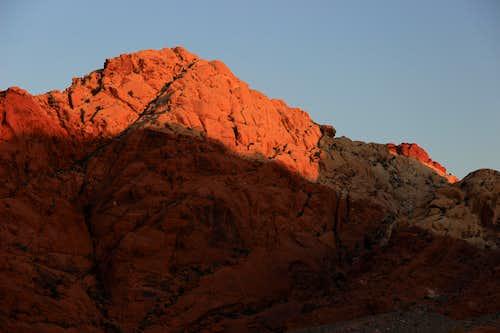 Calico Tank Peak at Dawn