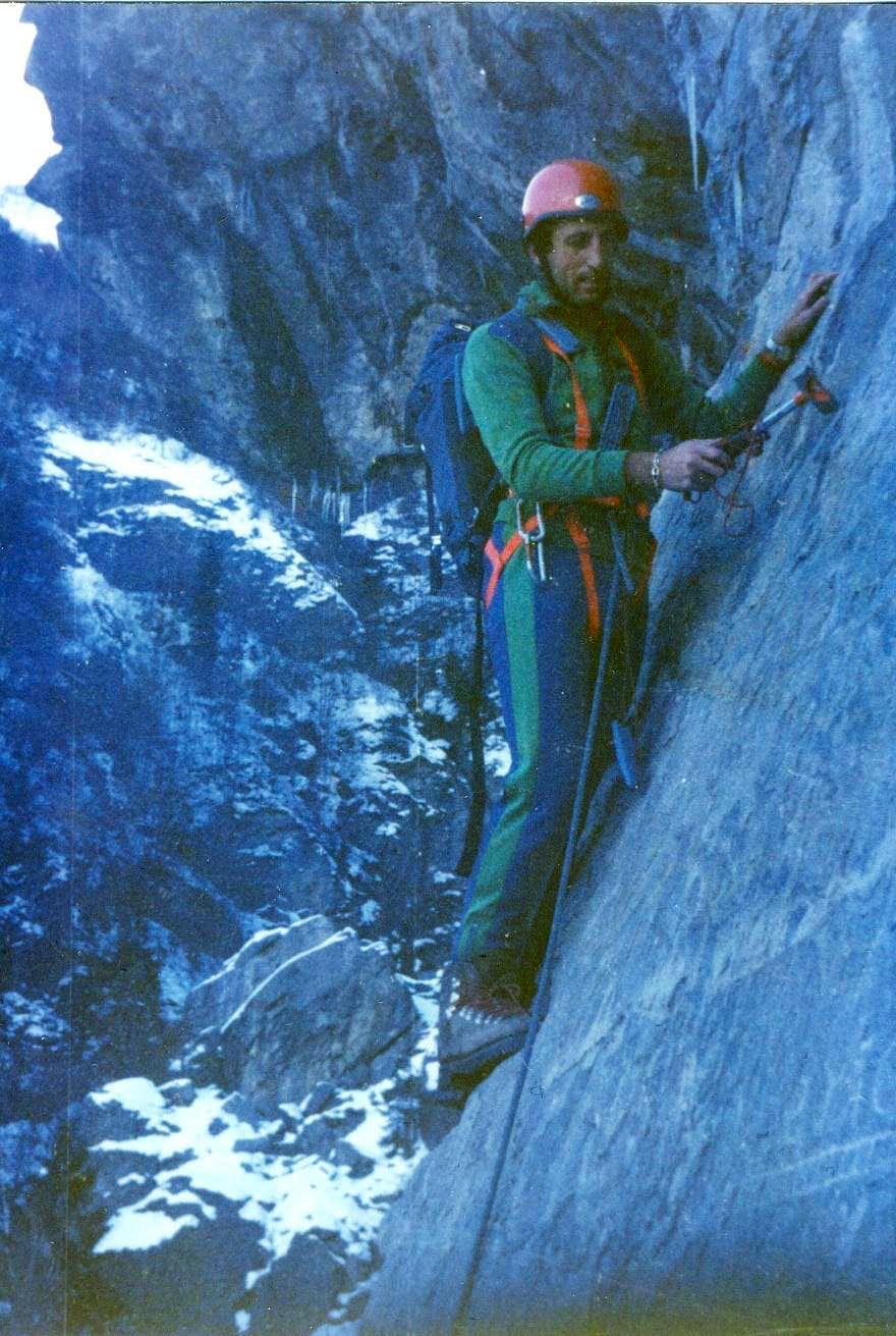 Old Climbing/3 Dard Gorge Free Winter Training 1979