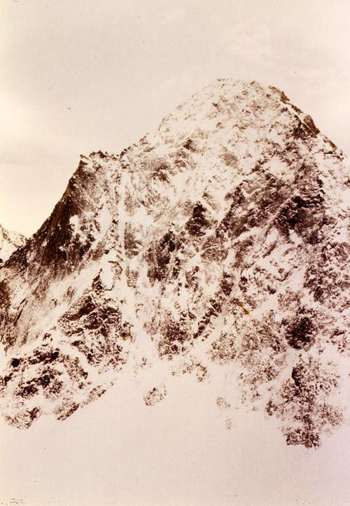Old Climbing/4 Mount Emilius Winter North Wall 1977