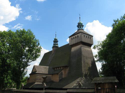 Haczów - Church of the Ascension of the Blessed Virgin Mary
