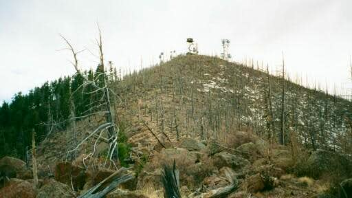 The Peak of Mount Elden and...