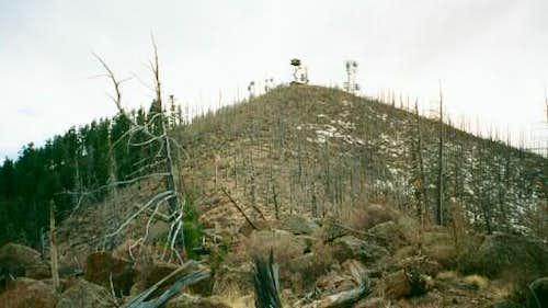 The Peak of Mount Elden and...