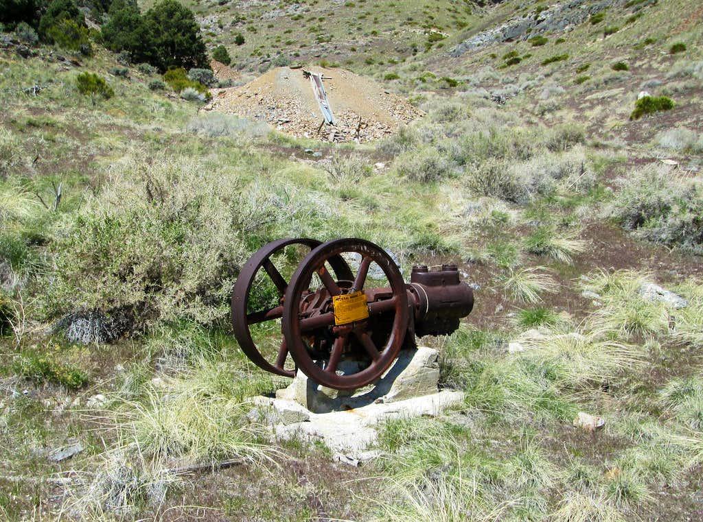 Silver Hill mine area