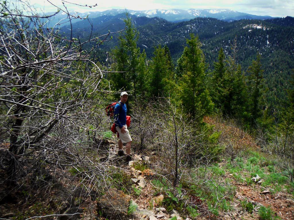 Hiking up Tiptop (5/3/14)