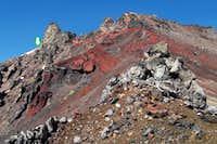Looking Up South Ridge