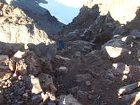 Chute Above Thayer Glacier
