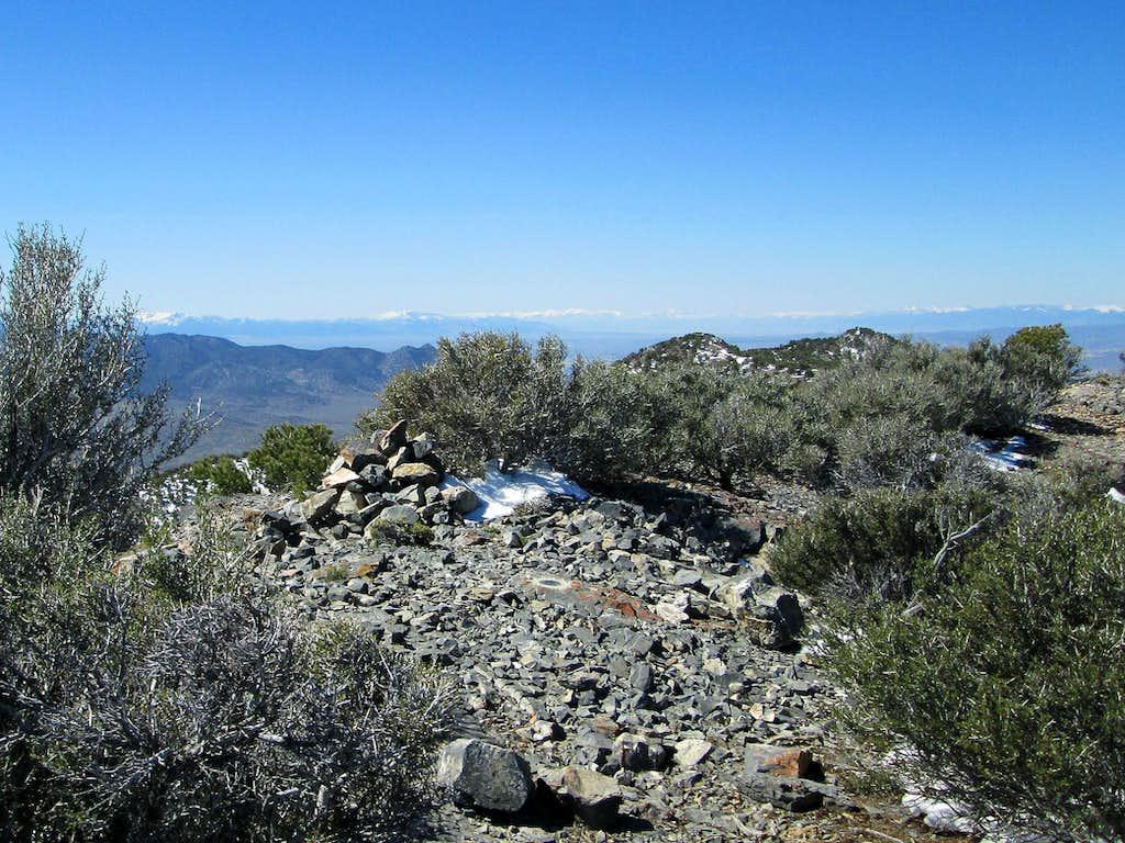 Summit cairn - Dutch Mountain