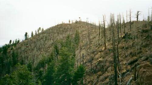 Mt. Elden's peak with the...