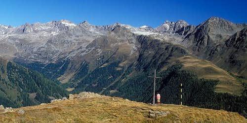 at Wetterkreuz (2233 m), with...