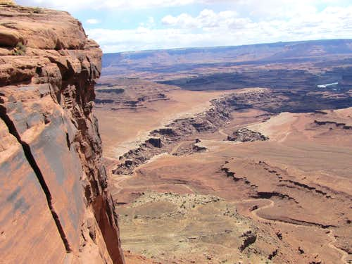 Lathrop Trail to White Rim Road