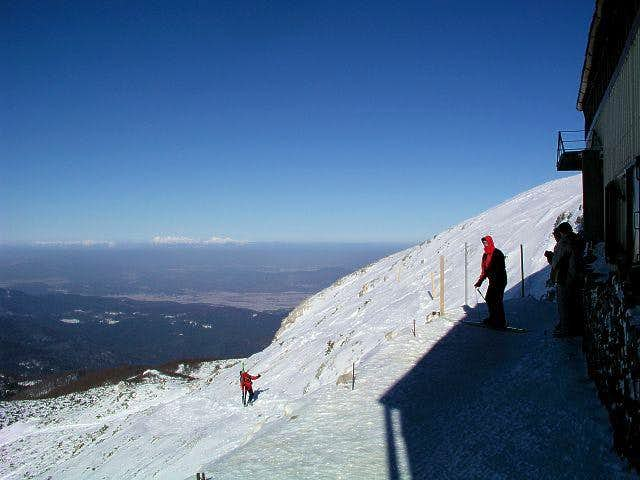 Sneznik summit view. In a...