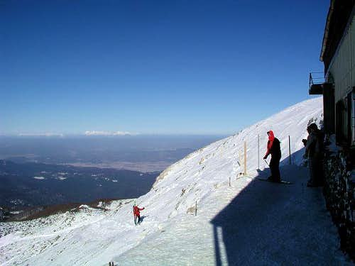 Sneznik summit view. In a...
