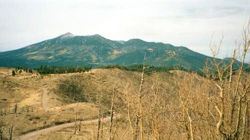 The San Francisco Peaks from...