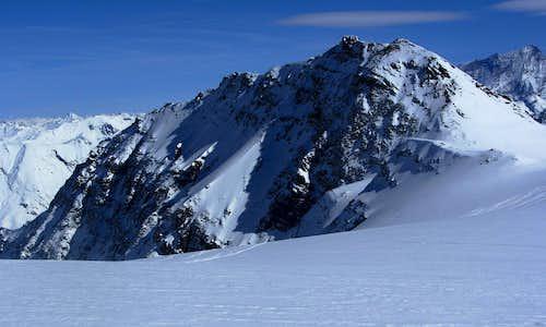 Mont de l'Etoile (3370m) from the SW, from Glacier de Vouasson