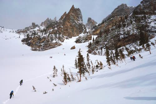 Dragon's Tail couloir