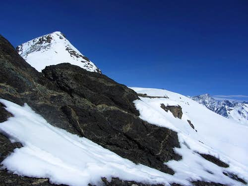 Mont de l'Etoile from the SW