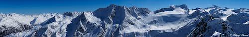 Schwarzkogel (3016m) Summit Panorama