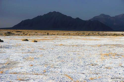 Eagle Mountain Across the Salt Flats