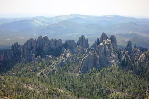 Needles from Harney Peak