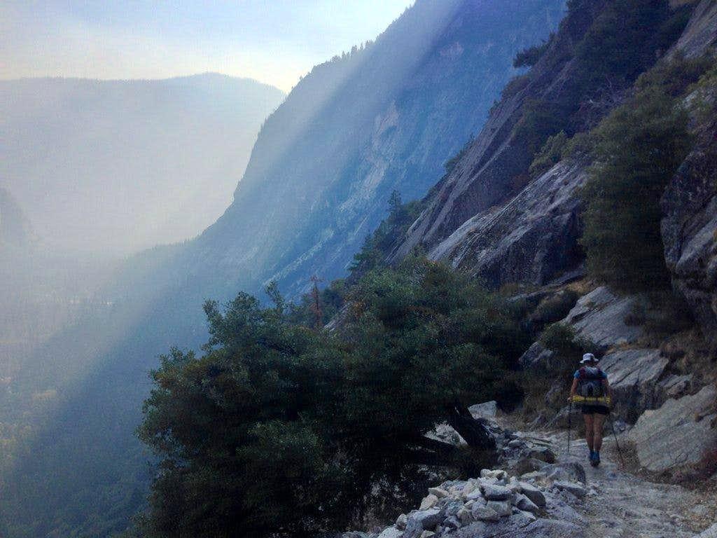 Smokey god-rays fill The Valley