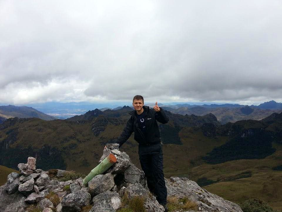 Summit & View of Cuenca