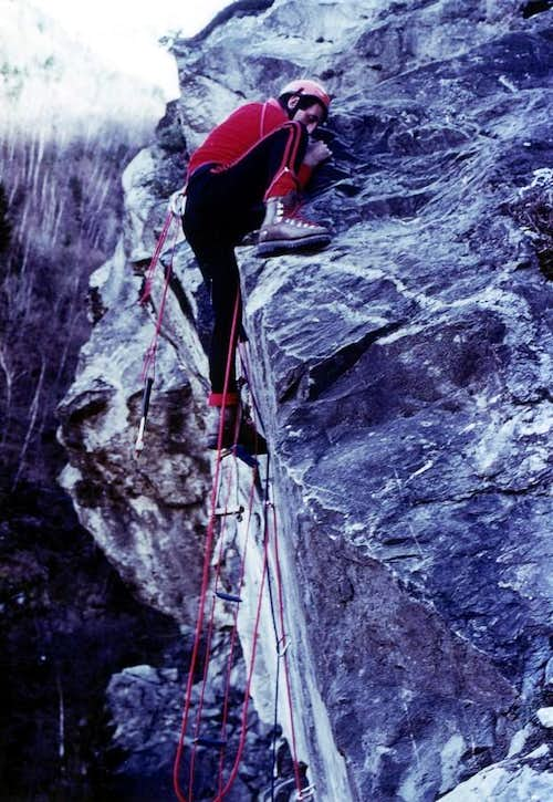 Old Climbings From Artificial to Free Climbing 1978