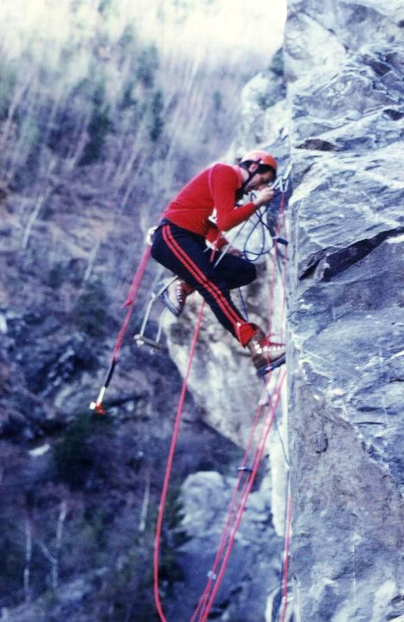Old Climbings (An old way of climb)/3 Almost Out 1978