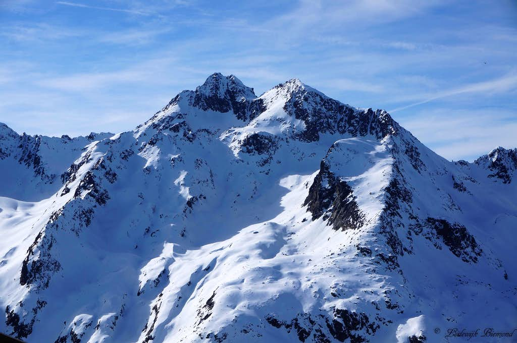 The Sharp Puitkogel (3345m, East Face)