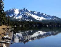 From Paulina Lake