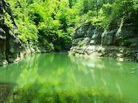 Walls of Lusk Creek