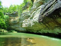 In Lusk Creek Canyon