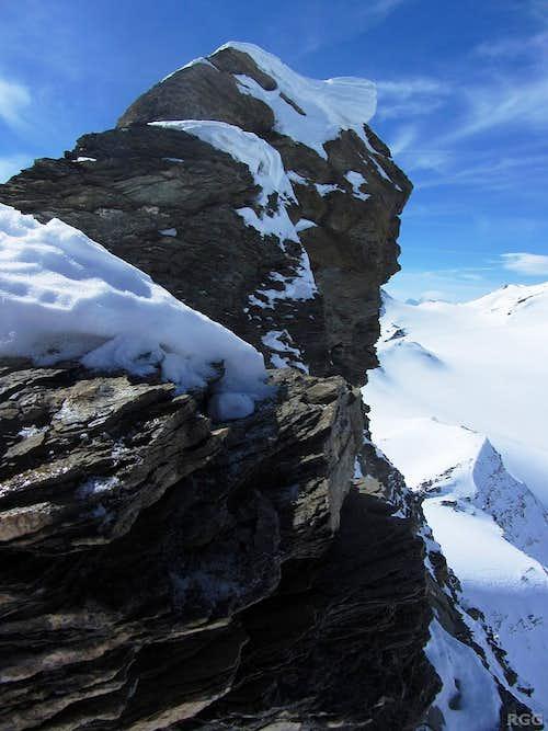 Mont de l'Etoile summit block from the NE