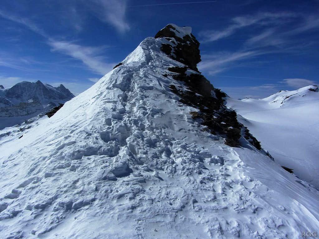 Mont de l'Etoile from high on the NE ridge