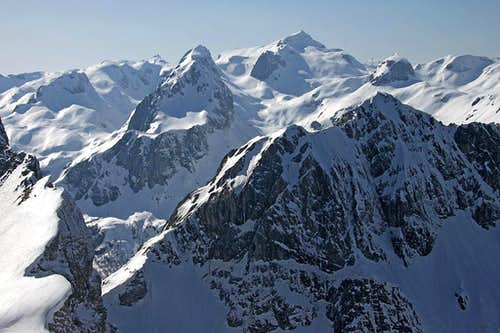 Paradise for tour skiing
