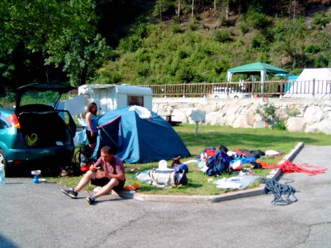 Camping for Carè Alto is...