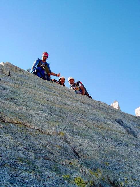 At the top of Monte Carè Alto...
