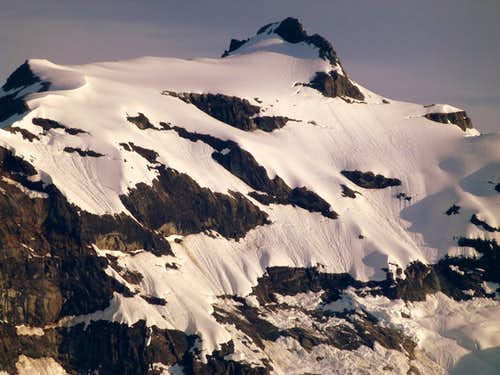 Kyes Peak (telephoto) from Excelsior Mountain