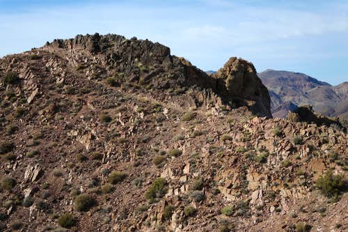 Summit of Corkscrew Peak