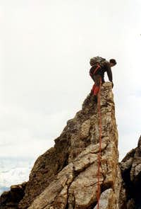 Free Climbings ... Unnamed Jag of Percià Summit 1980