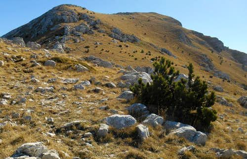 Serra Dolce Dorme (the west ridge)