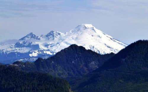 Mt. Baker from McGillicuddys Peak