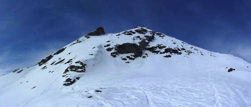 Mont de l'Etoile from the SE