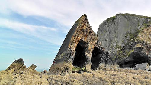 Sacre Coeur at Blackchurch Rock